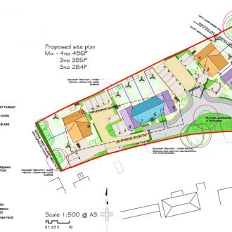 The Gables Site Plan